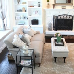 Restoration Hardware Living Room Good Paint Colors For Getting The Look Less Finding Silver Pennies Finally My Friend Bre Over At Rooms Rent Has Impeccable Style She Really Knows How To Decorate And Her Home As Well Homes Of Clients