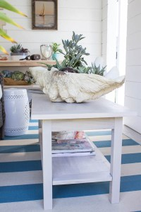 She Shed: DIY Coastal Coffee Table - Finding Silver Pennies