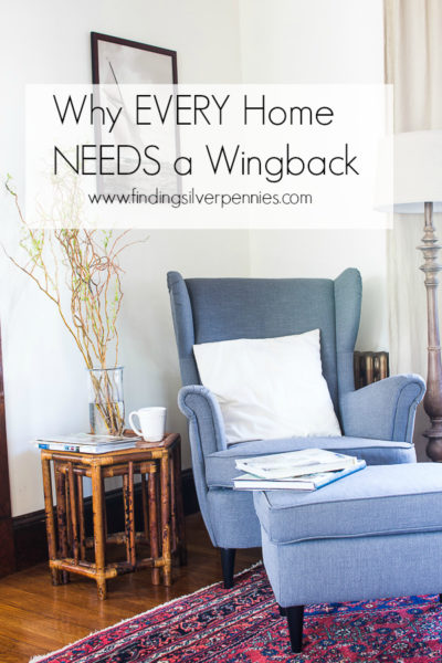 strandmon wing chair review folding metal chairs why every home needs a wingback finding silver pennies