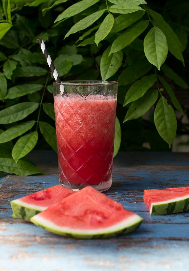 Healthy Watermelon Slushies  Finding Silver Pennies