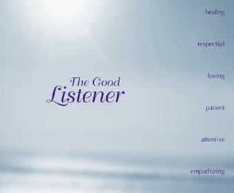 The Good Listener by James F. Sullivan