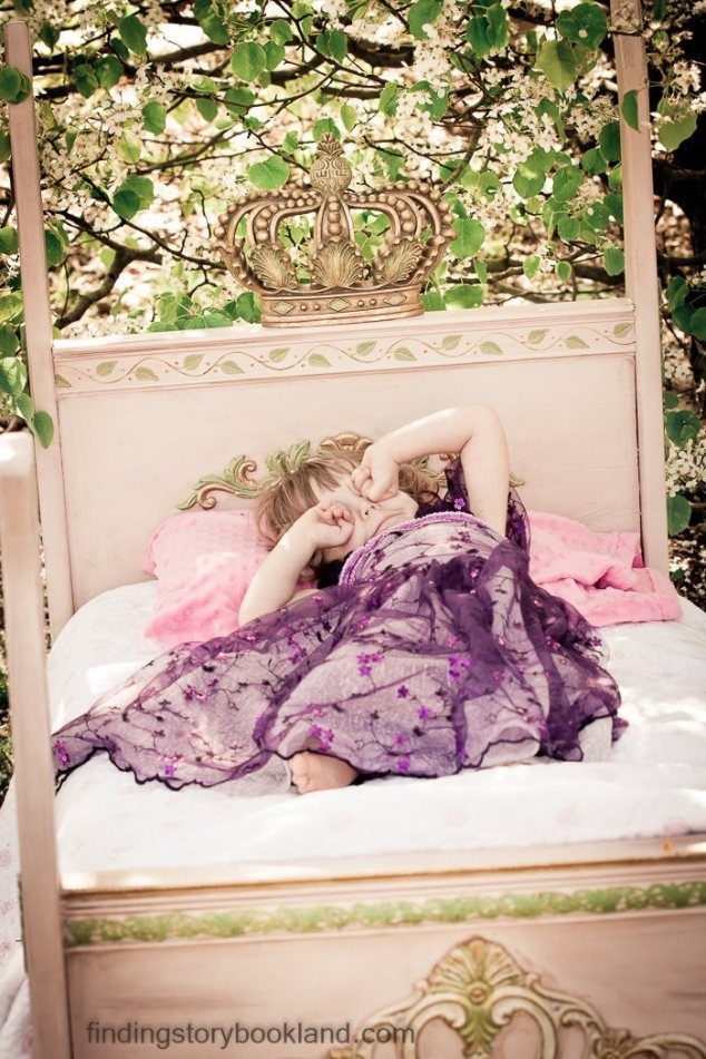 Sleeping Beauty Themed Photo Shoot