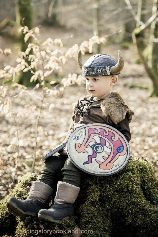 Viking Hunter Themed Photo Shoot