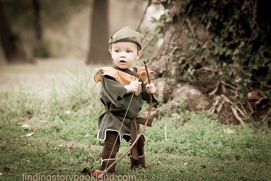 Fanciful Robin Hood Children's Photo Shoot