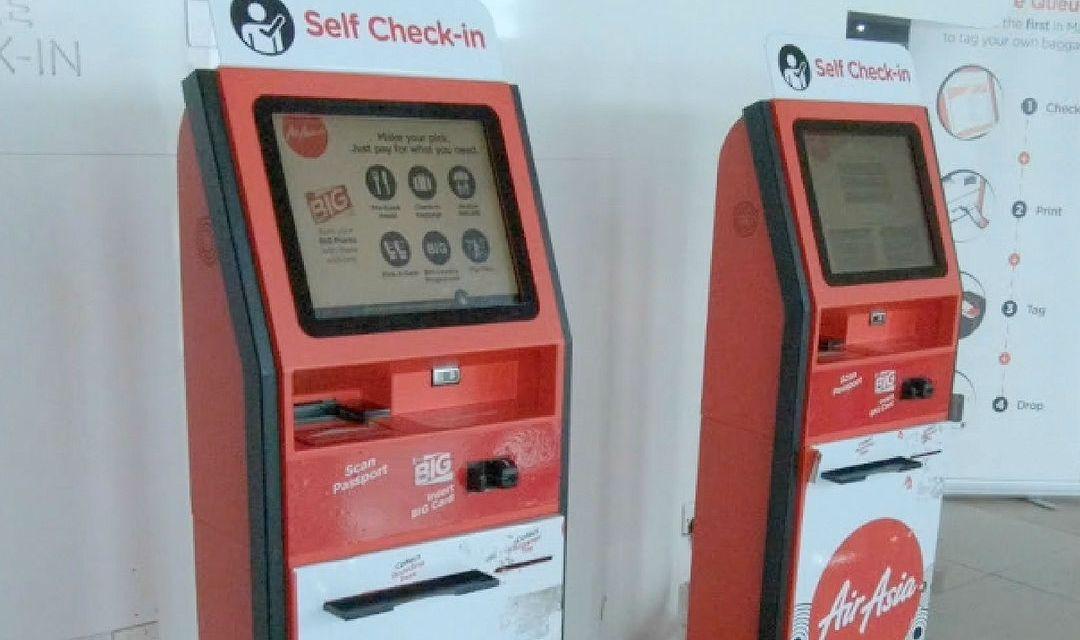 Airasia Self Check In Kiosk