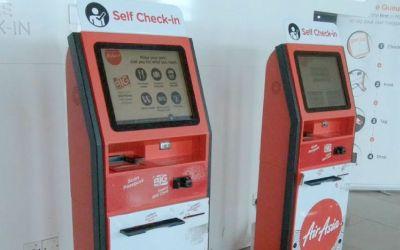AirAsia self check-in kiosk adventure