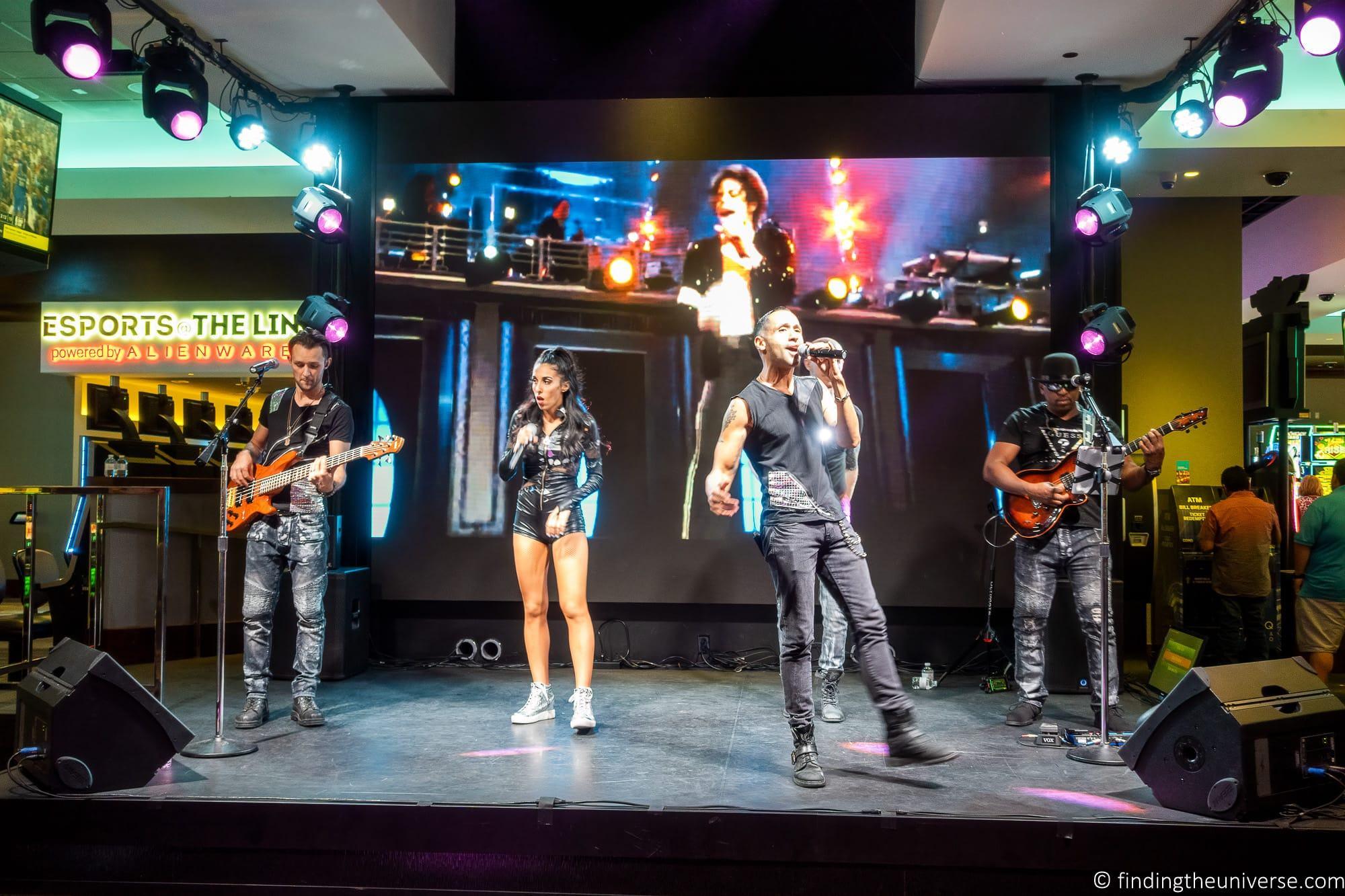 Free entertainment Las Vegas