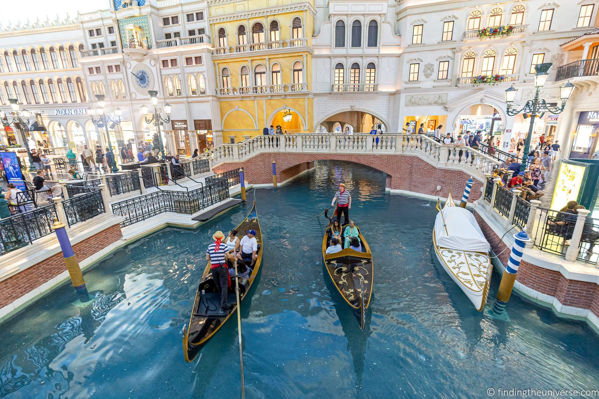 Gondola Ride Las Vegas