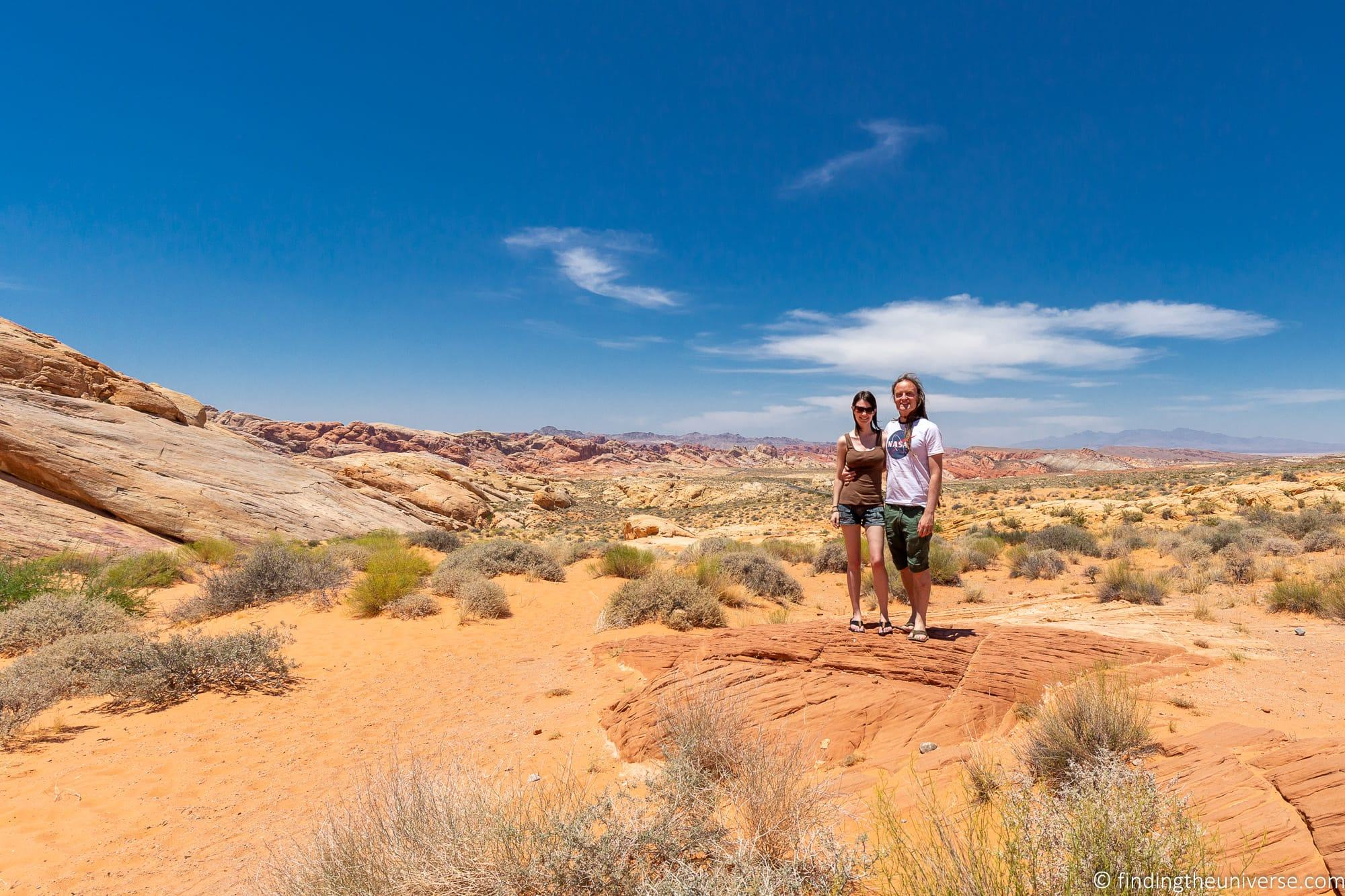 Laurence and Jess at Valley of Fire State Park