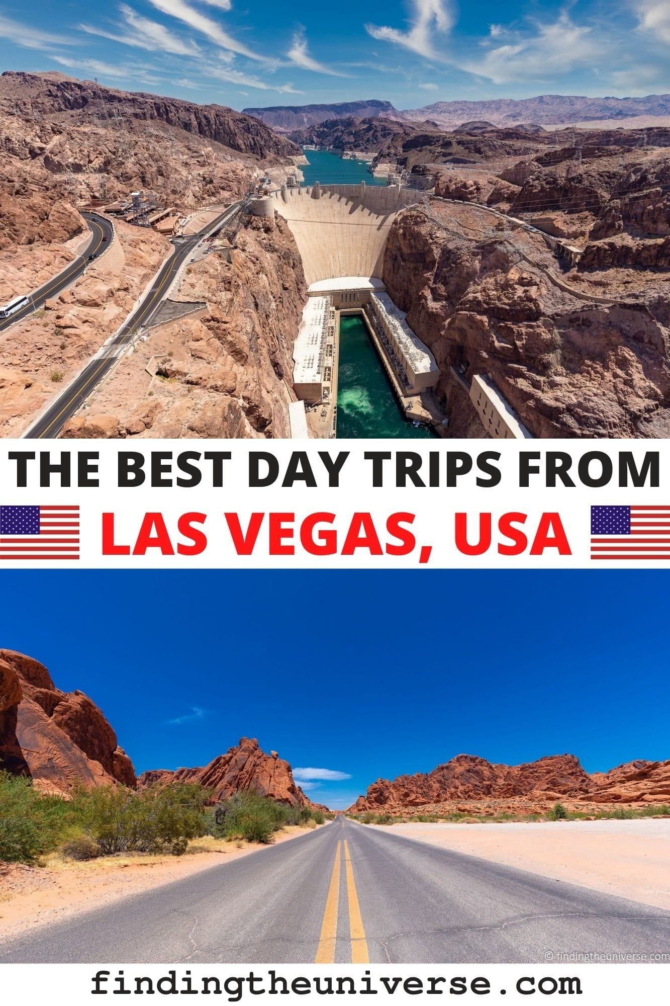 Guide to the best day trips from Las Vegas. Everything you need to plan a day out from Las Vegas, from the Hoover Dam to the Grand Canyon!