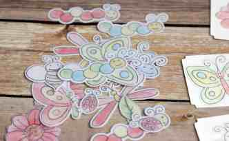 Mix and Match Notecards | Finding Time To Create