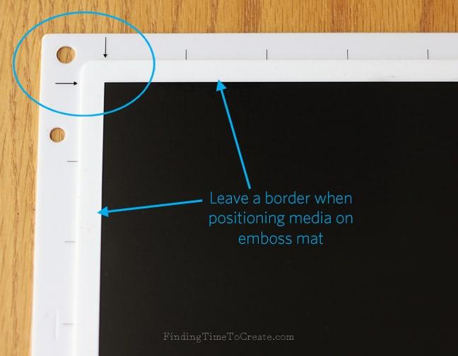 Mat border_FindingTimeToCreate