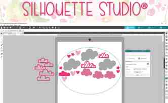 Using the Nesting feature in Silhouette Studio - video tutorial