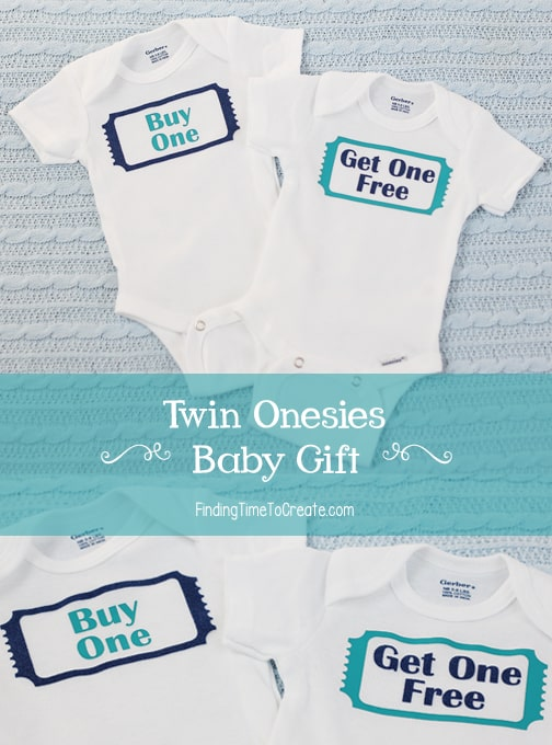 Twin Onesies - Finding Time To Create
