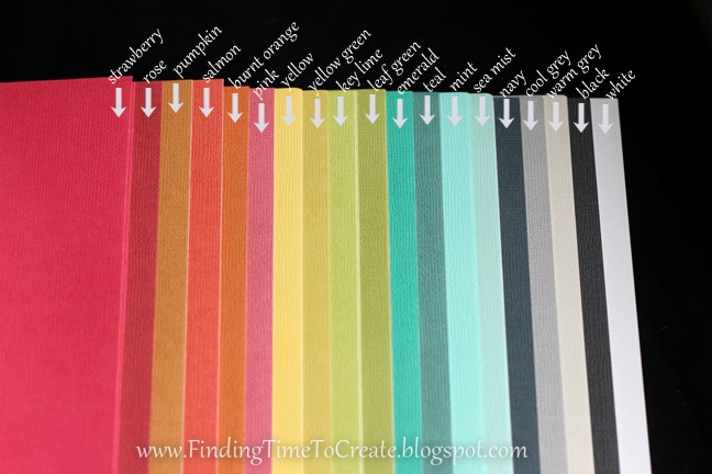 cardstock colors