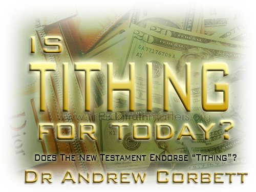 Is Tithing For Today?
