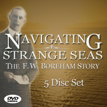 Order this Collector's 5 Disc Set of the F.W. Boreham Story