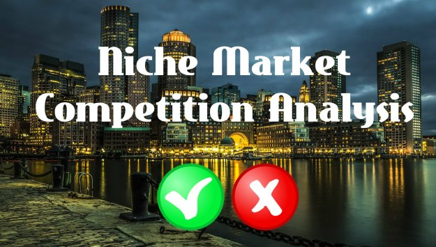 Low competition niches - Niche market research process