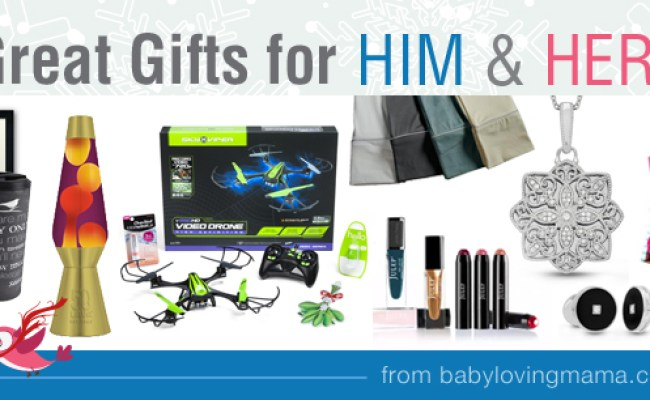Great Gifts For Him And Her Holiday Gift Guide Round Up