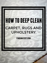How to Deep Clean for Summer - Finding Zest