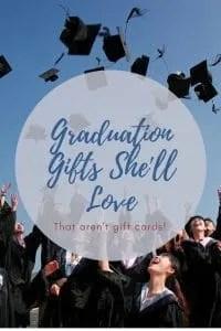 graduation present ideas for