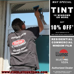 may window film special findlay customs