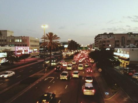 al karama busy street