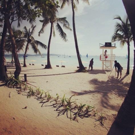 Beachfront Boracay Island Philippines