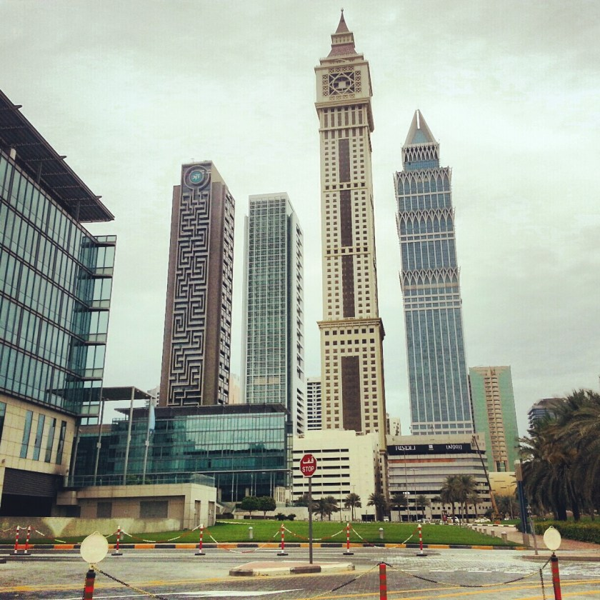 DIFC area in Dubai