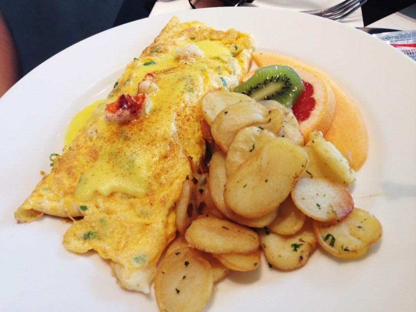Lobster-Omelette
