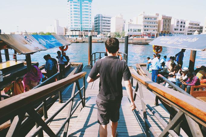Boat Abra Dubai