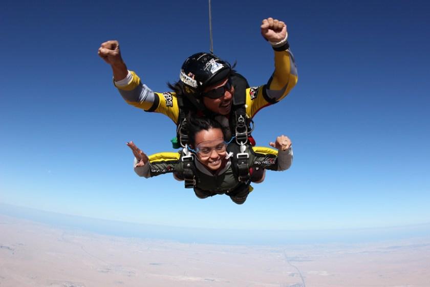Sky Dive Dubai Bucketlist
