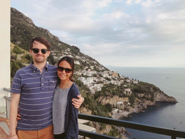 Stunning Amalfi coast