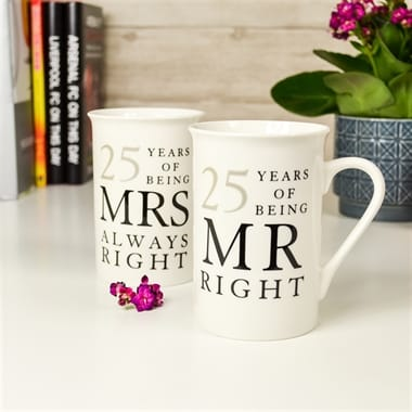 25th wedding anniversary gifts
