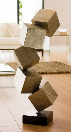 Twisted cubic sculpture Home Decoration Dwell Retail Limited  FindMeFurniture