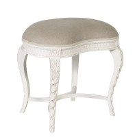 Chateau Carved Dressing Table Stool, Chairs and stools ...