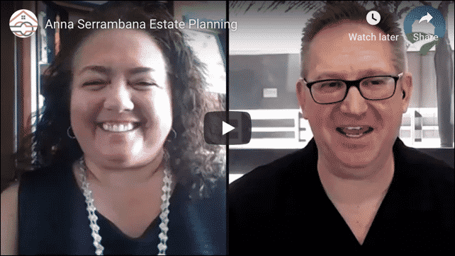 Anna Serrambana Estate Planning Interview Article