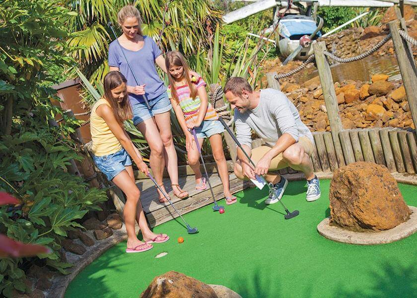 Vauxhall Crazy Golf