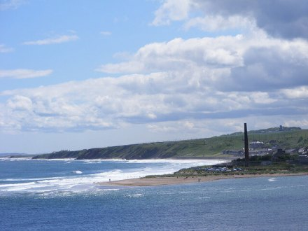 Sea View from Berwick Upon Tweed - Berwick Holiday Park