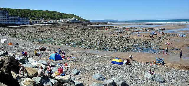 Westward Ho Beach View at Bideford Bay