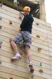 Climbing Wall at Bognor Regis - Butlins Bognor Regis Resport
