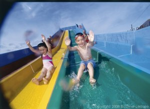 Waterslide at Doniford Bay - Doniford Bay Holiday Park