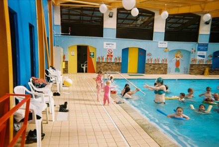Indoor Pool at Looe Bay - Looe Bay Holiday Park