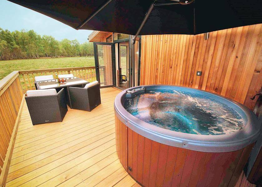 Sherwood Hideaway Hot Tub