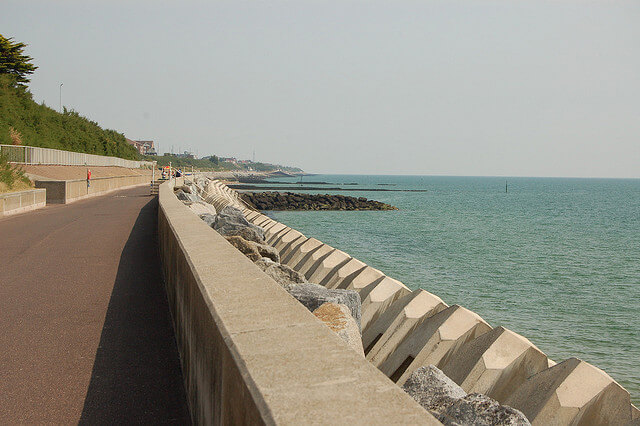 View of Clacton-on-sea at Valley Farm