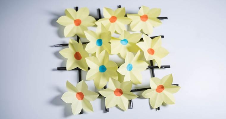 diy paper flowers wall decor