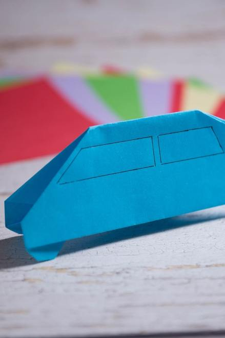 origami cars instructions