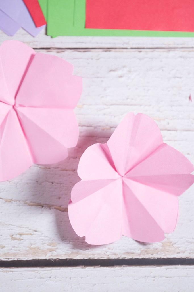 Origami Cherry Blossom - Origami Easy - YouTube | 1024x683