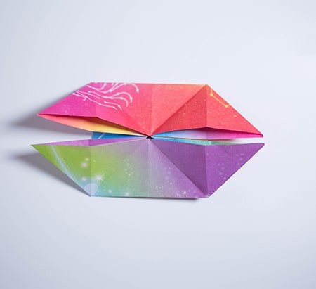 Easy and rich - Origami diamond ornaments. Christmas decoration ...   411x450