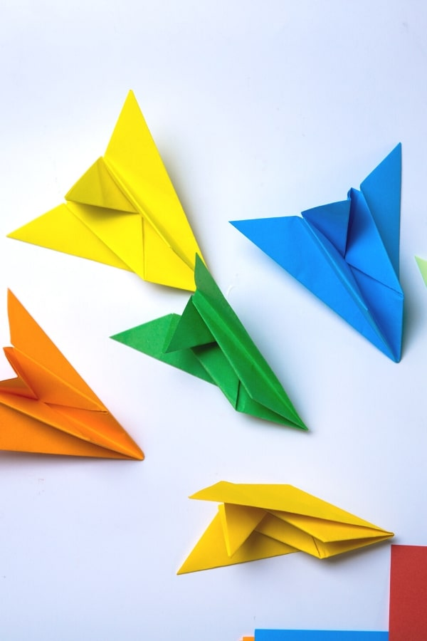 how to make Airplane origami easy